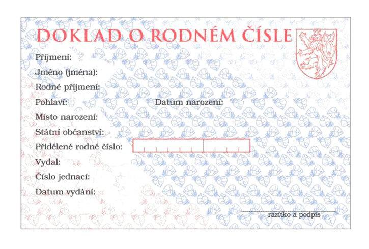 Czeski numer ewidencji ludności