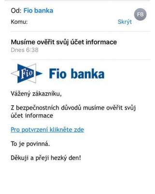 Uwaga na fałszywe e-maile od FIO